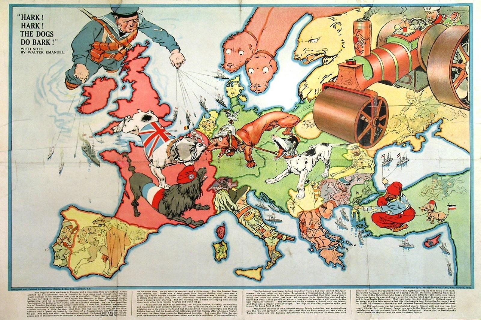 Cartina Geografica Prima Guerra Mondiale.Mostra La Grande Guerra Nella Cartografia Satirica Europea 29 30 Aprile E 1 Maggio 2017 Via Gramsci Milano Marittima Todinforma